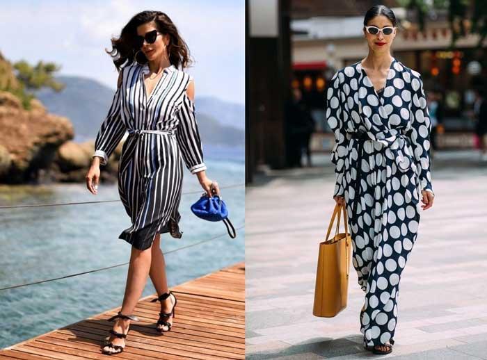 Модные платья-2018 для отдыха на море