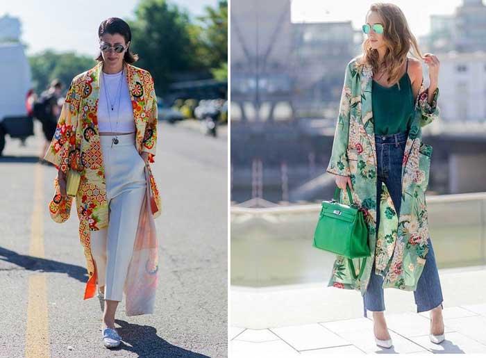 Летние кимоно и платья халаты