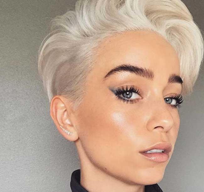 Цвет волос при наличии седины