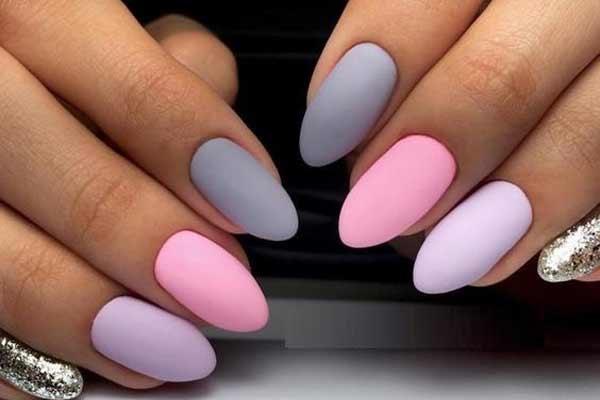 Модные пастельные оттенки для ногтей летом