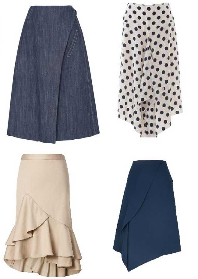 Модные модели юбок