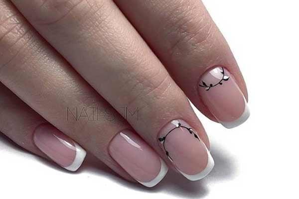 Аккуратны дизайн ногтей