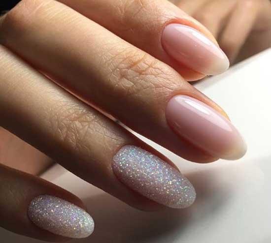 Красивый хрустальный дизайн ногтей