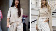 Бежевая блузка или рубашка: как носить, чтобы выглядеть на миллион