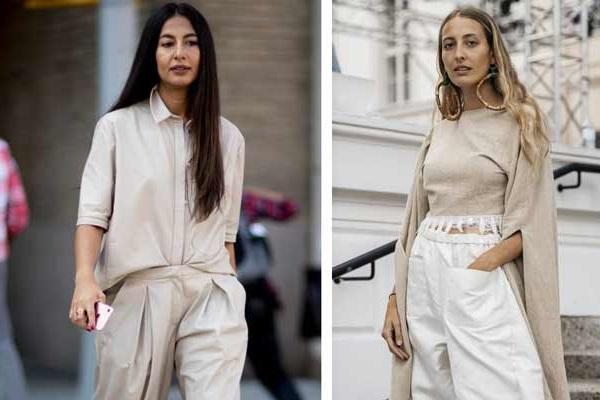 Бежевая блузка или рубашка: как носить эту эффектную базовую вещь