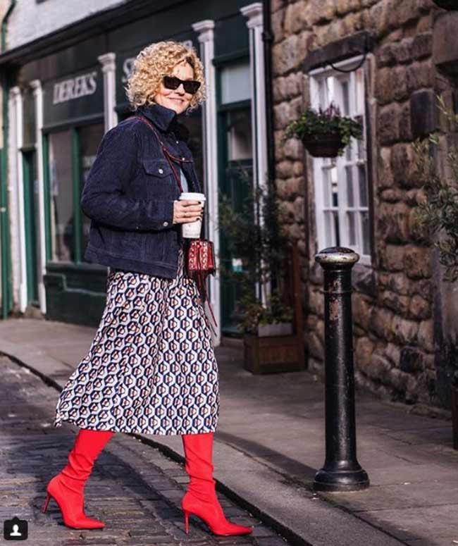 Модные образы блогер Ренни 45+