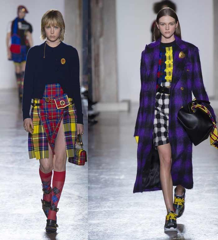 Красивые юбки Versace