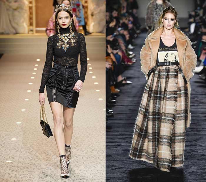 Модные мини и макси юбки