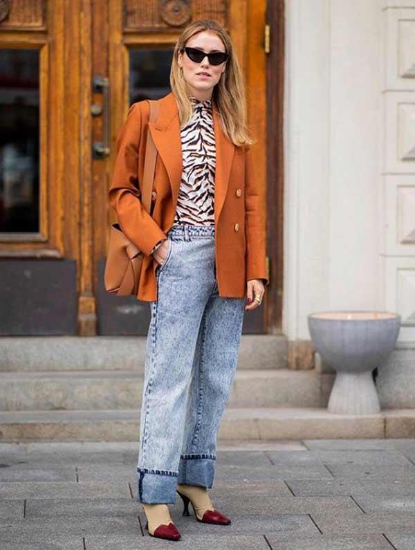 Леопардовый принт в модном образе