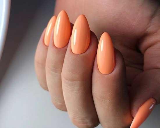 Однотонное оранжевое покрытие