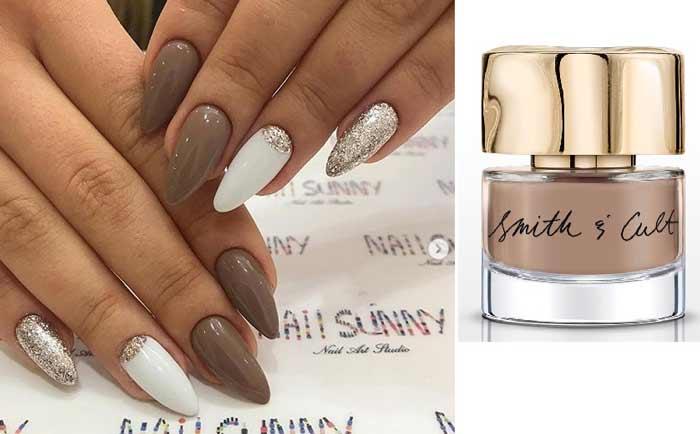 Шоколадный цвет для ногтей