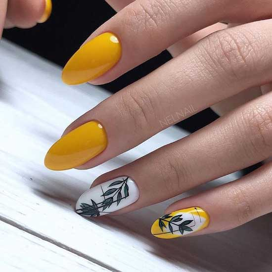 Идеи дизайна ногтей на осень
