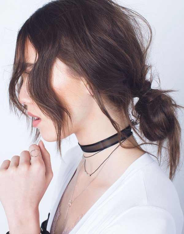 Модная укладка для длинных волос