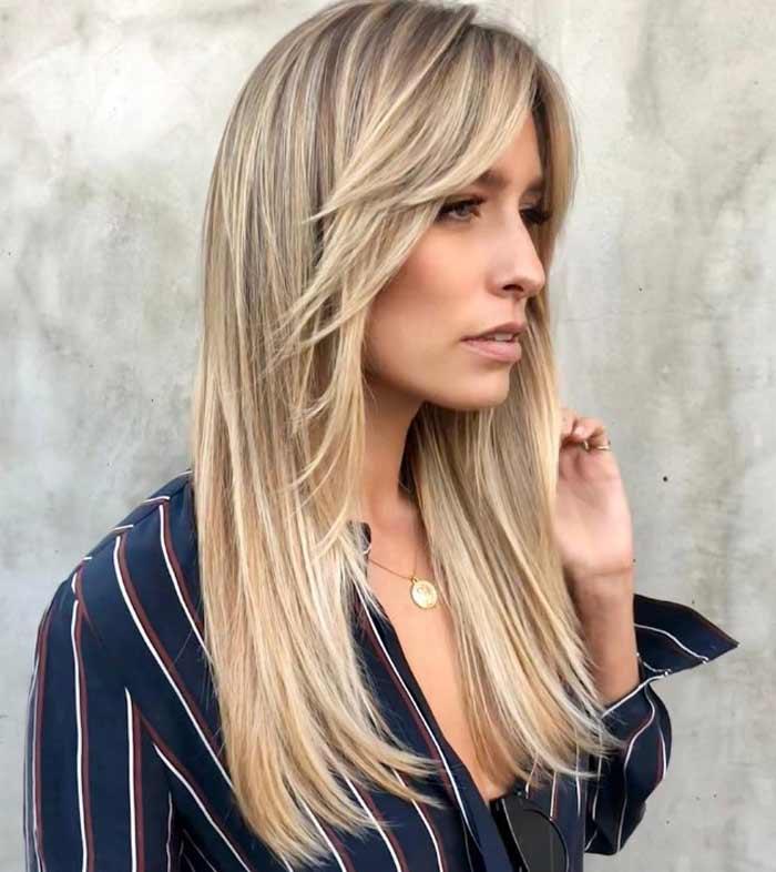 Примеры окрашивания для блондинок