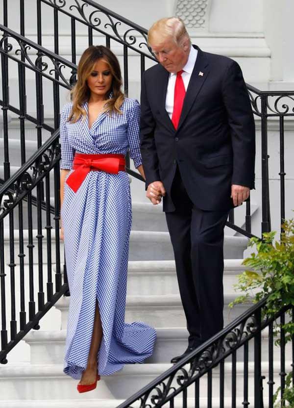 Мелания Трамп стиль 2018