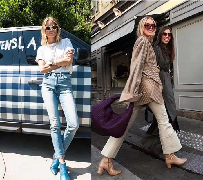 Модные джинсы - блогеры Скандинавии