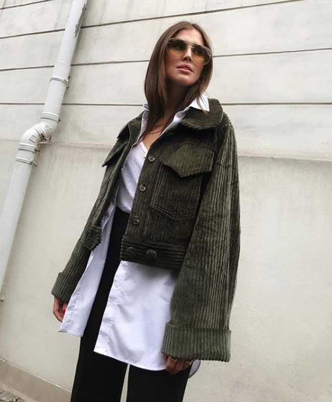 Многослойность в образах - модный блогер Скандинавии