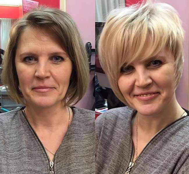«До и после» стилиста