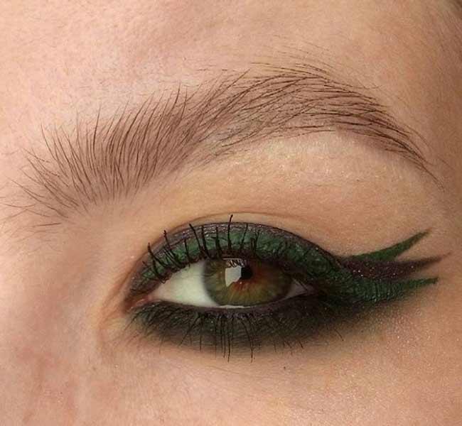 Модные красивые стрелки для глаз
