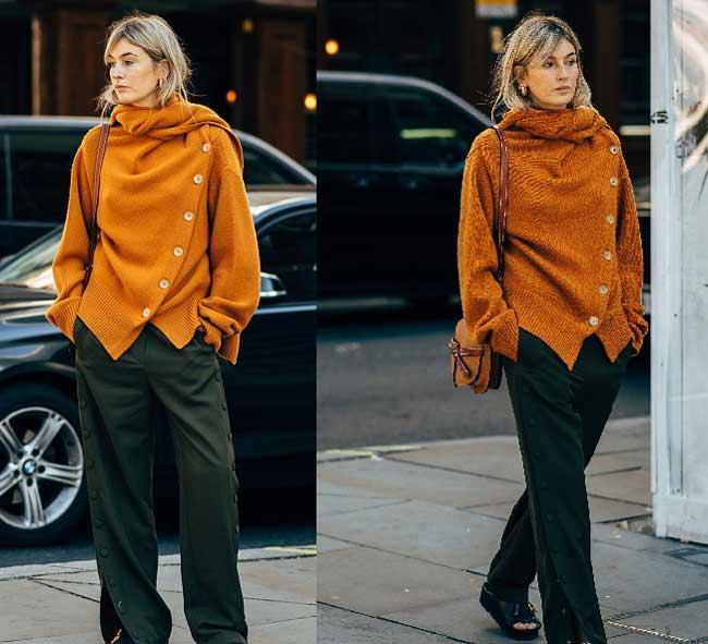 Кому подходит оранжевый цвет в одежде