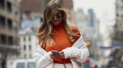 Оранжевое настроение: как носить апельсиновый цвет осенью