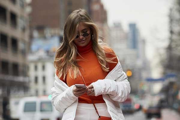 Оранжевый цвет - как носить осенью