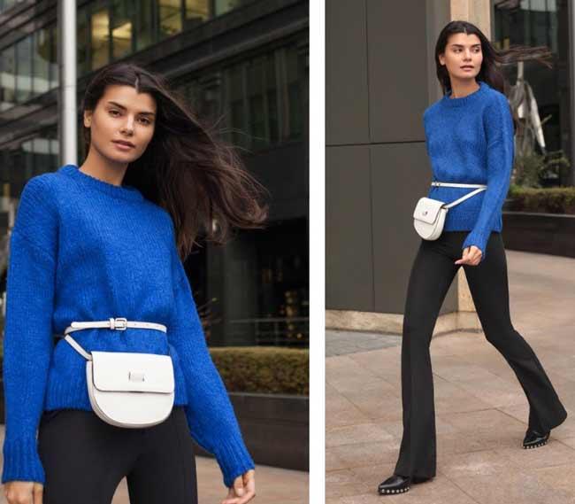 Модный базовый свитер
