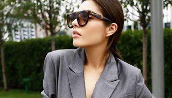 Пиджак и платье: шикарное сочетание для работы. Фото