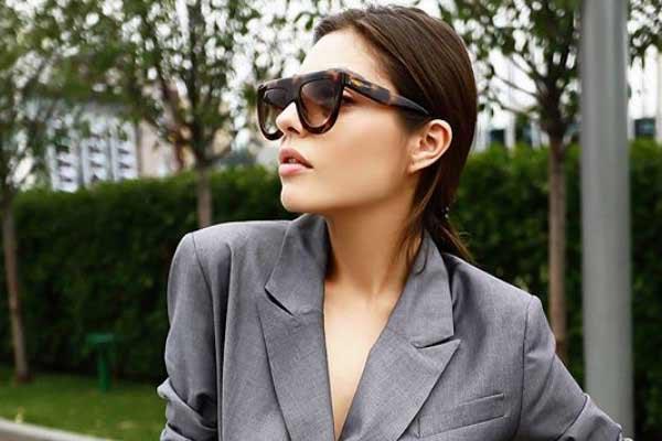 Образы для работы с платьем и модным пиджаком