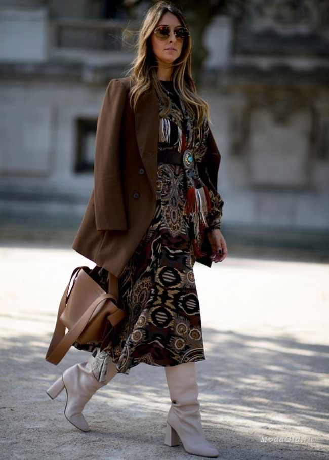 Платье и пиджак -фото для работы
