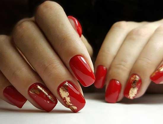 5 самых роскошных оттенков красного: красивые идеи маникюра