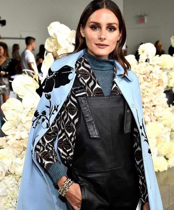Оливия Палермо сочетания с водолазкой