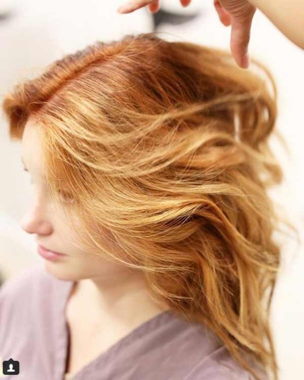 Осветление по концам - щадящее окрашивание волос