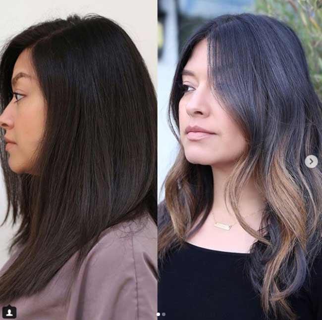Выбор светлоты волос