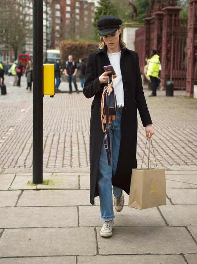 Модное длинное осеннее пальто 2018-2019
