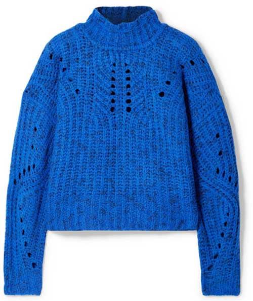 Модные свитеры на зиму