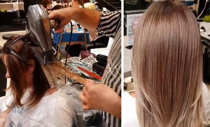 Вместо мелирования: модное окрашивание волос AirTouch, фото