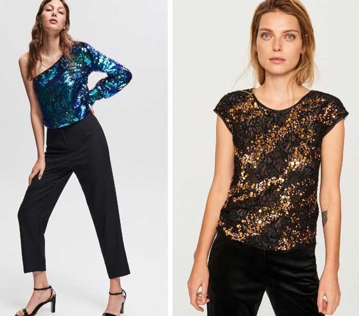 Актуальные модели брюк на Новый год 2019