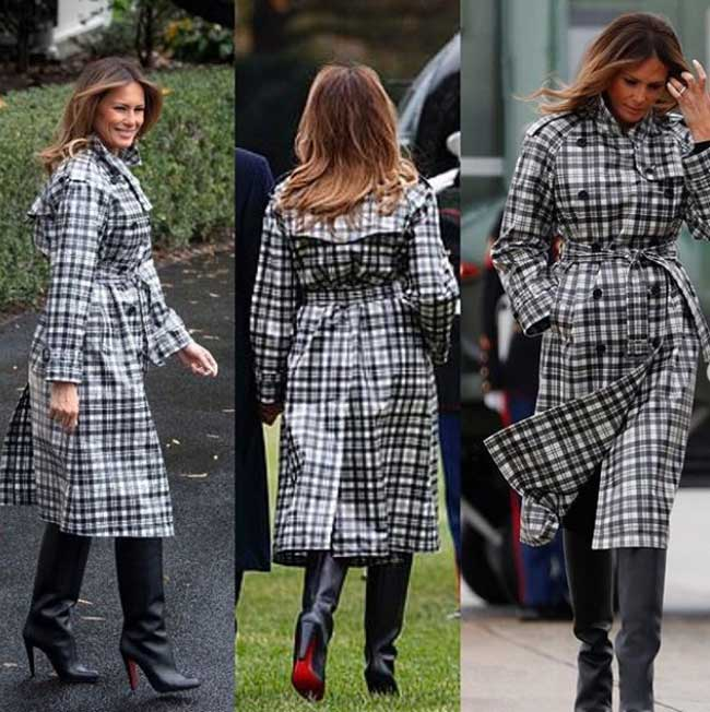 Мелания Трамп - любимые пальто