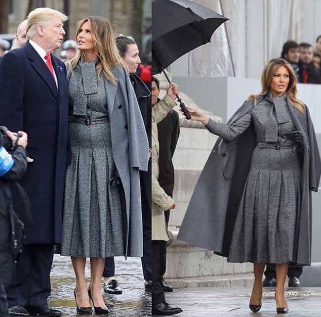 Любимые пальто Мелании Трамп