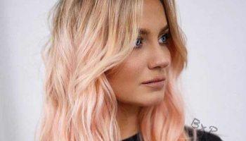 «Медовая роза»: новый модный оттенок волос, фото