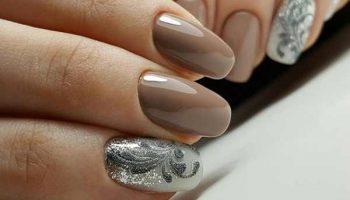 Нежный зимний маникюр: модные идеи стильного nail-арта