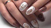 Новогодний маникюр 2019: модные идеи для коротких ногтей
