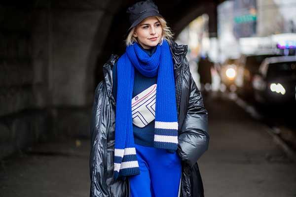 Утепляемся, какие шарфы носить в этом сезоне