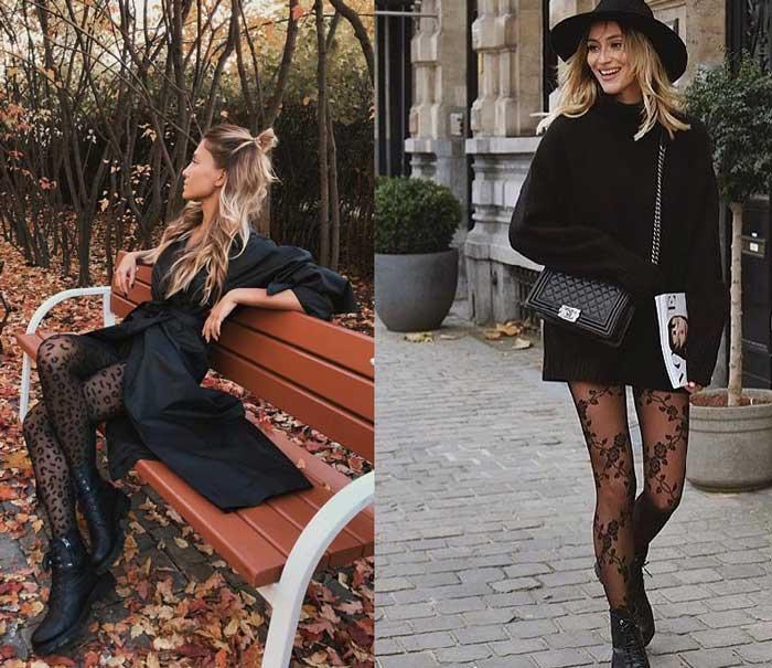 Какие колготки носить в 2019 году что модно