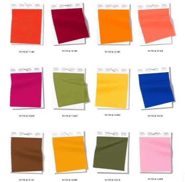 Цветовые тренды в моде на весну-лето 2019 года