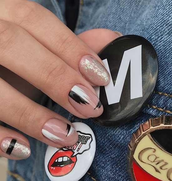 Красивый дизайн ногтей: что модно весной 2019 - голые ногти