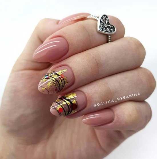 дизайн ногтей на весну 2019