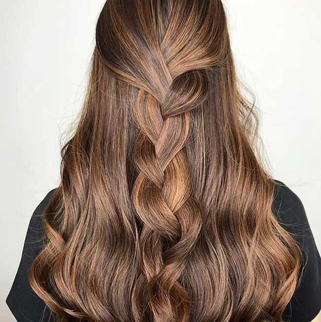 Airtouch модная техник окрашивания волос 2019