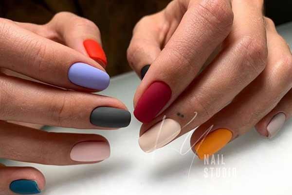 Модные цвета на весну - дизайн ногтей
